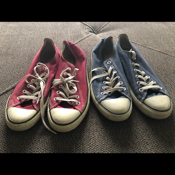 22c7dda2b595ca Converse Other - 2 Pairs of Converse All Stars - Used